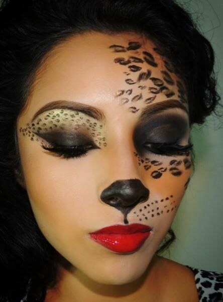 makeup artist cheetah makeup tutorial cheetah cat leopard makeup