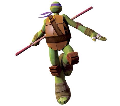 Donatello or donnie is the brains of the teenage mutant ninja turtles he is in