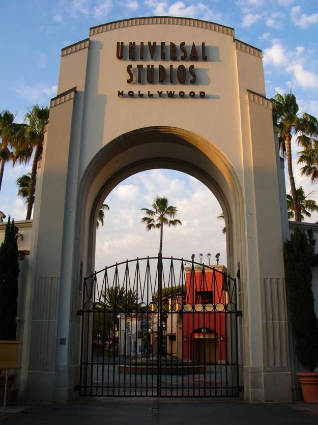 Universal Studios Hollywood California Map Facts