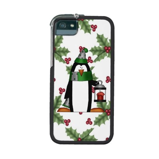Christmas Penguin iPhone 5/5s Graft Leverage case iPhone 5/5S Covers
