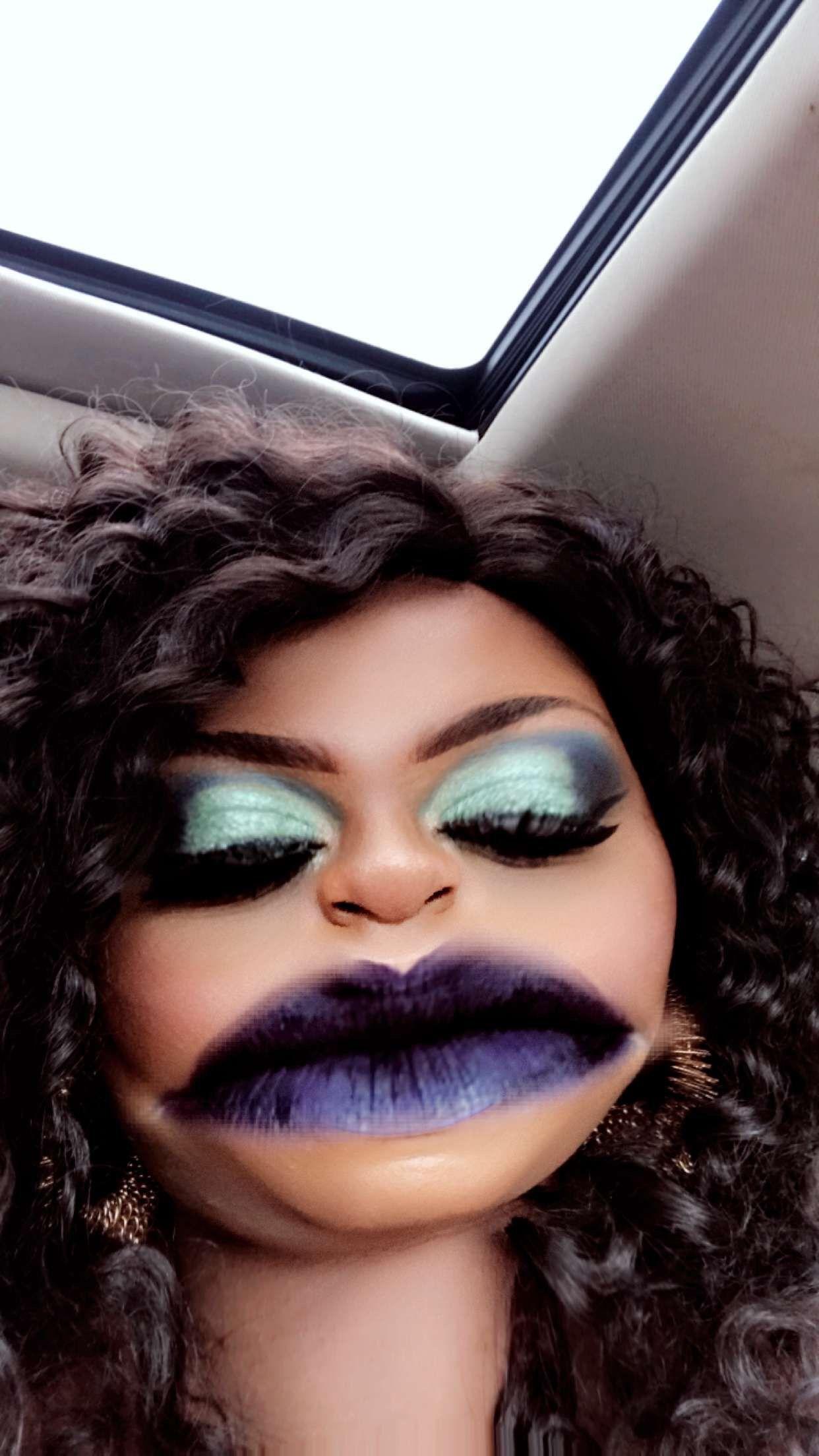 Snapchat Filter Halloween face makeup, Face makeup, Makeup