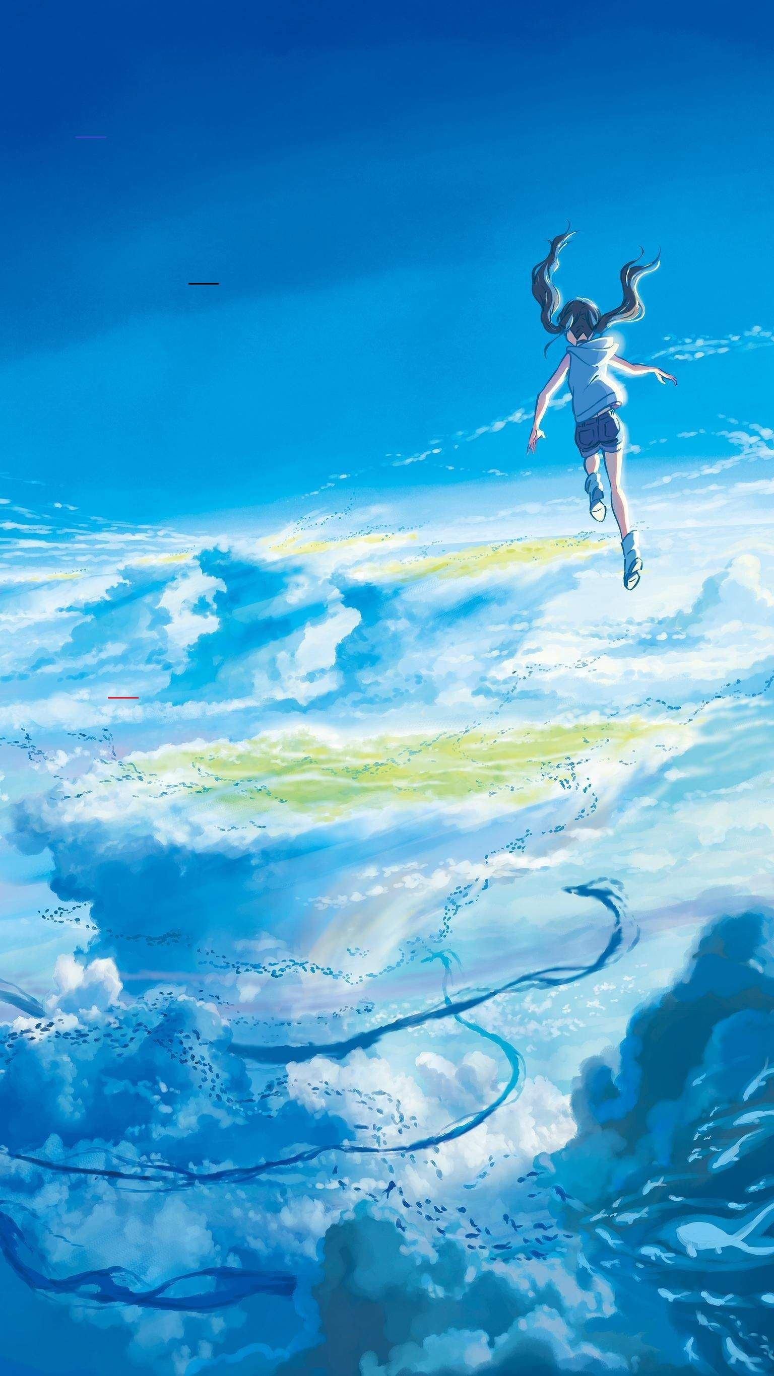 Coldrainydayoutfit Jun 22 2020 A Delightful Removable Wallpaper Perfect For Nurseries Thr En 2020 Paysage Manga Japon Illustration Fond D Ecran Telephone Manga