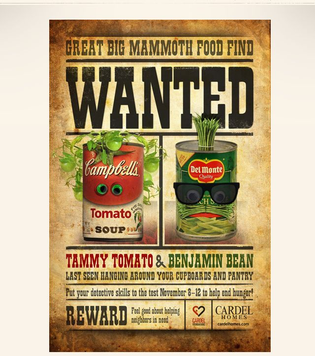 Wanted_Food_poster2_640.jpg (640×723) | Food donation ...