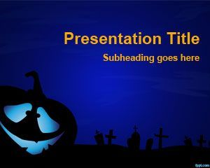 Creepy PowerPoint Template | PowerPoints: Ideas & Resources ...