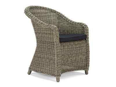 Gartenmobel Gartenstuhl Polyrattan Stuhl Sessel Mit Kissen Kenia Neu Outdoor Chairs Wicker Chair Chair