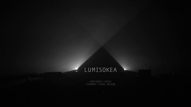 Lumisokea audiovisual liveshow