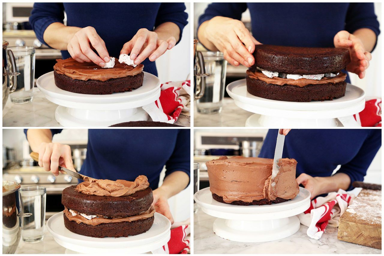 Try this recipe for DOVE Hot Chocolate Cake with Peppermint
