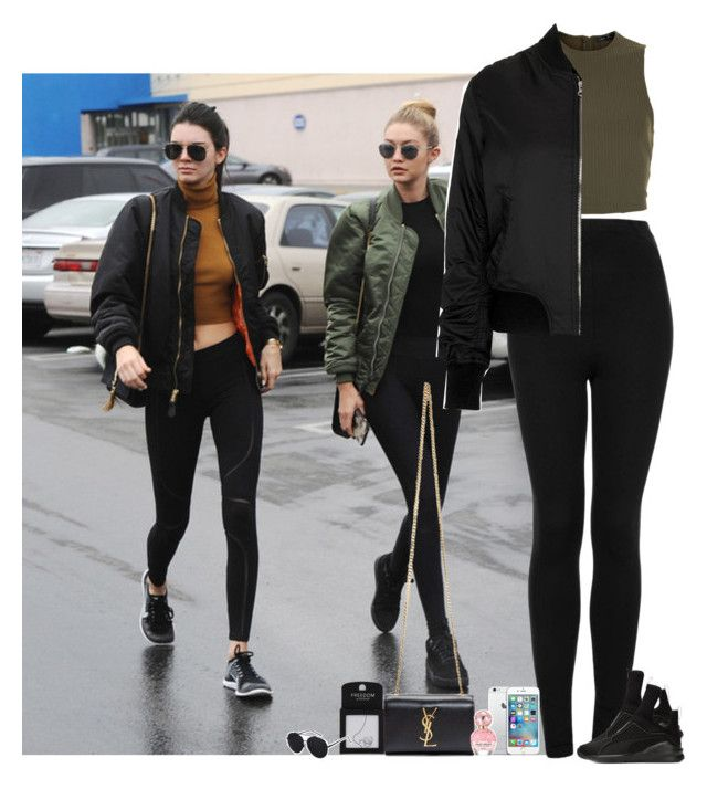 """""""Day with Kendall and Gigi"""" by fxrever-isnt-for-everyone ❤ liked on Polyvore featuring Topshop, New Look, Puma, Yves Saint Laurent and Marc Jacobs"""