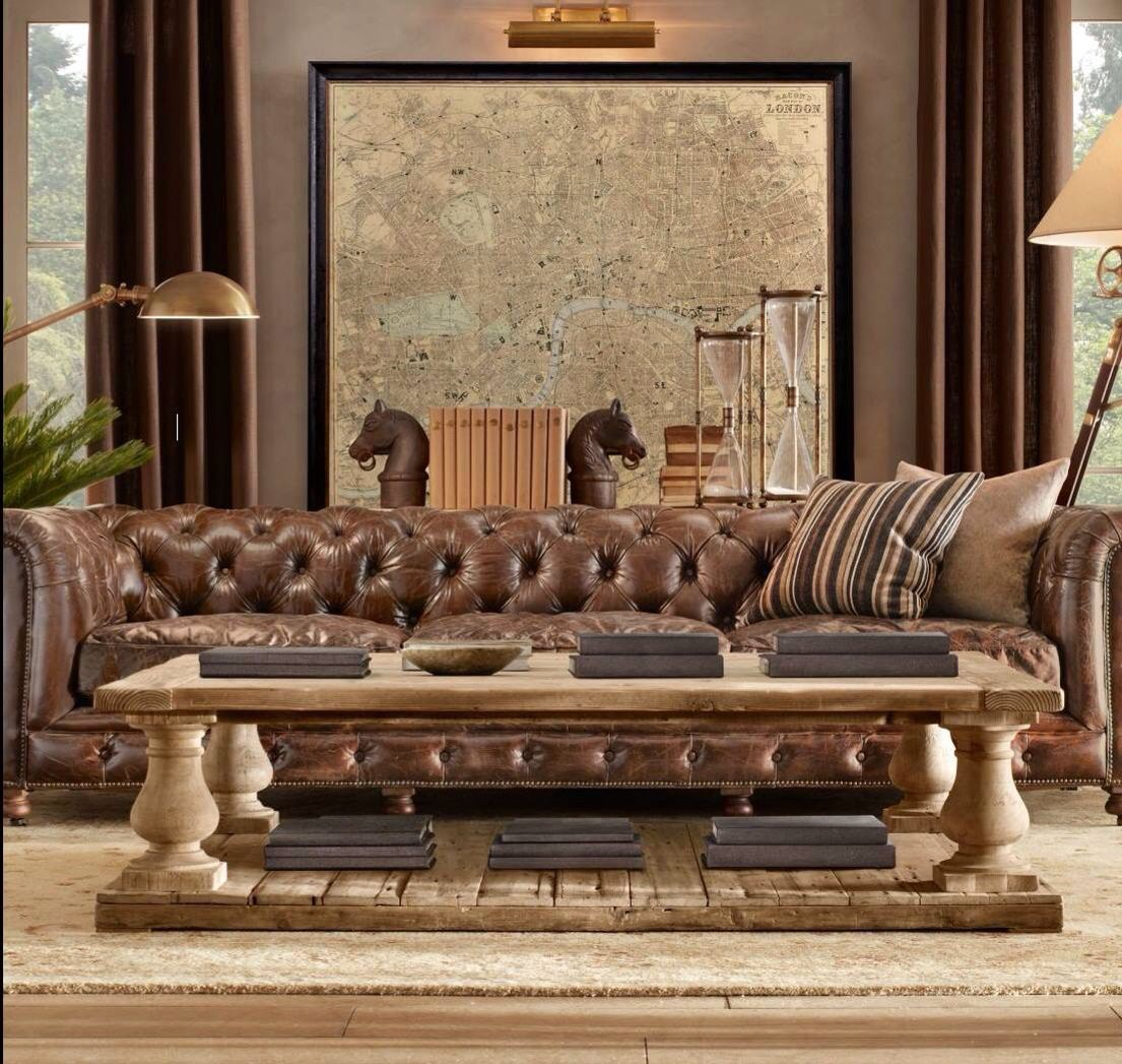 living capitone chesterfield restoration hardware restoration rh pinterest com