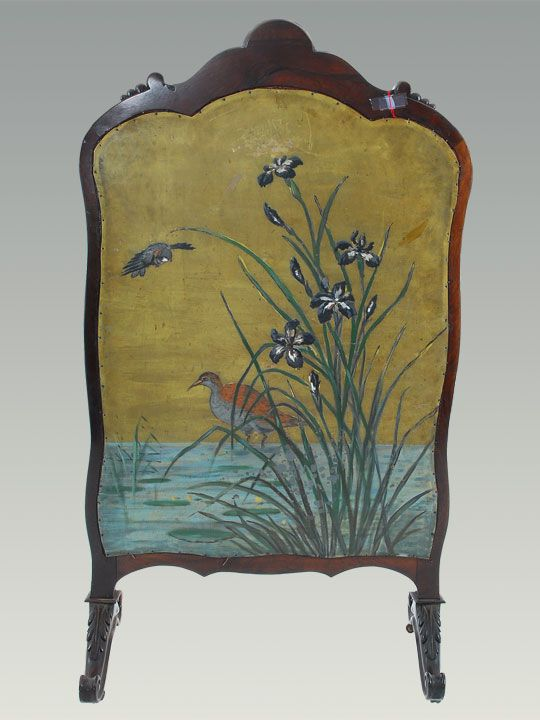 antique victorian fireplace screen fireplace accessories rh pinterest com