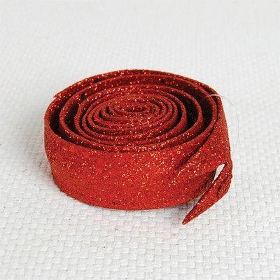 Wire Glitter Ribbon | Wayfair
