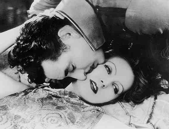 John Gilbert and Greta Garbo in Flesh and the Devil (1926)