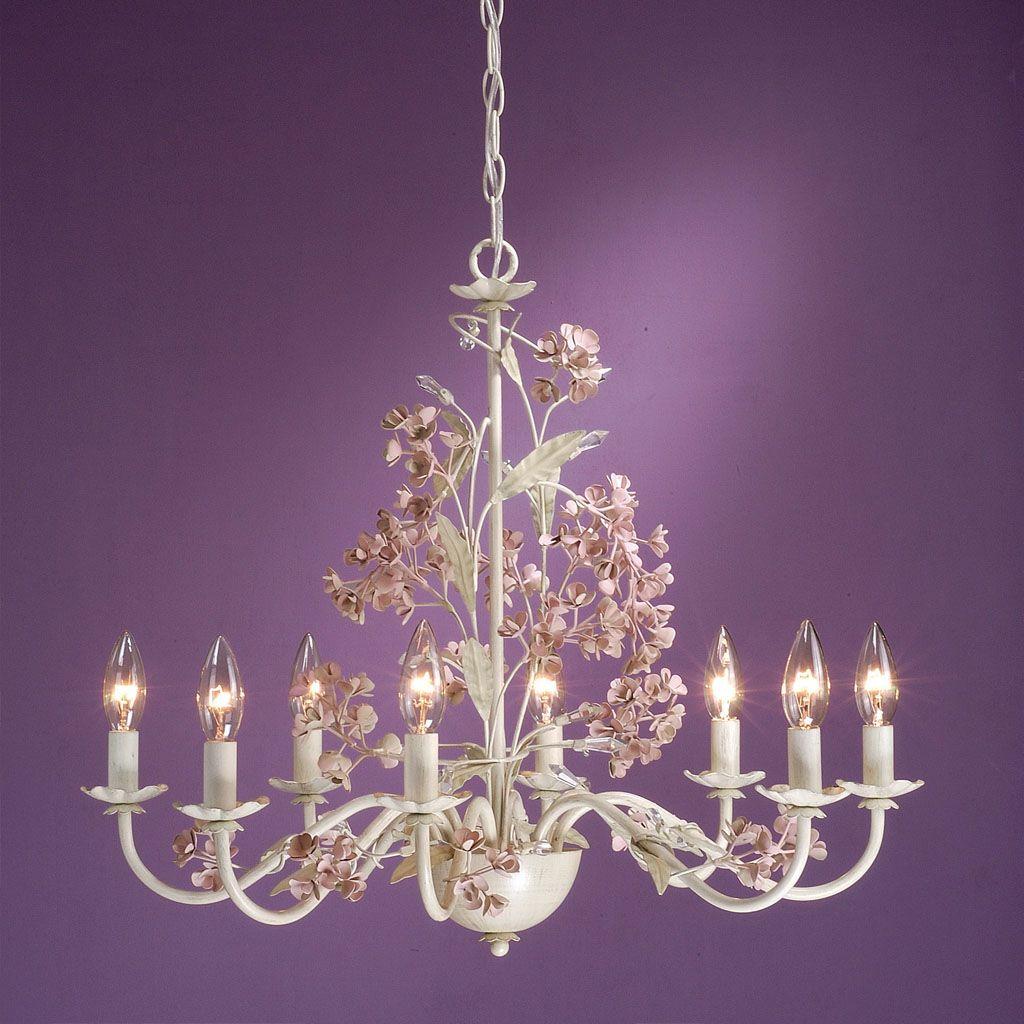 laura ashley blossom 8 light chandelier all types of. Black Bedroom Furniture Sets. Home Design Ideas