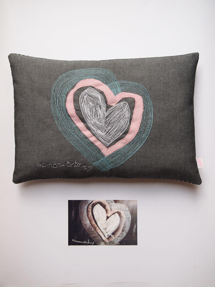 Création textile Zut! pièce unique . Dessin de Corto 4 ans. http://www.atelier-zutfrance.com/