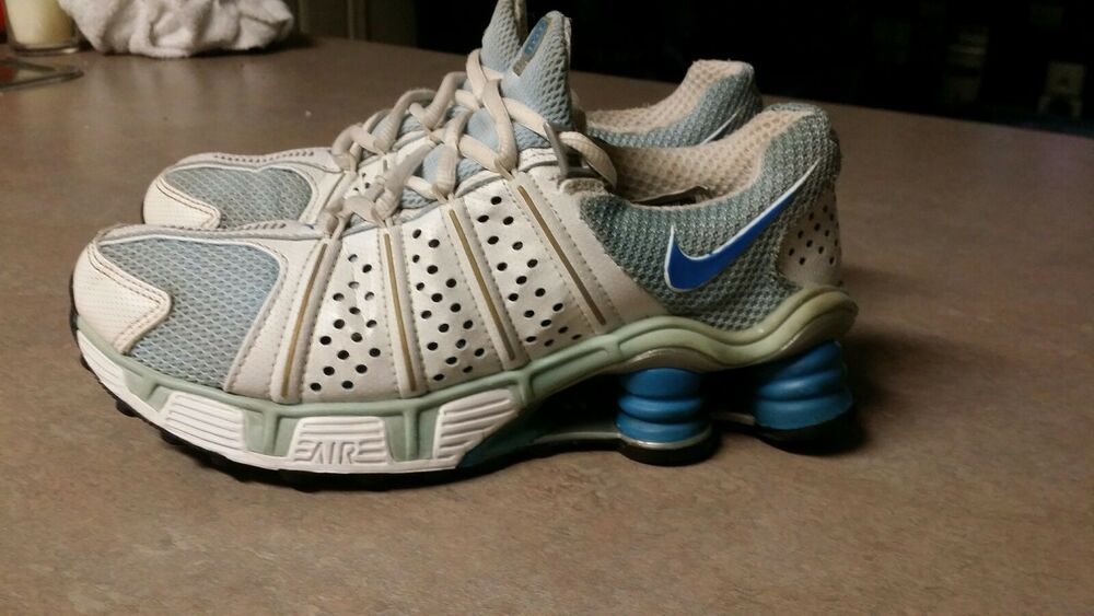 Nike Shox Cognescenti Running Shoes Women's Size 6.5 Blue