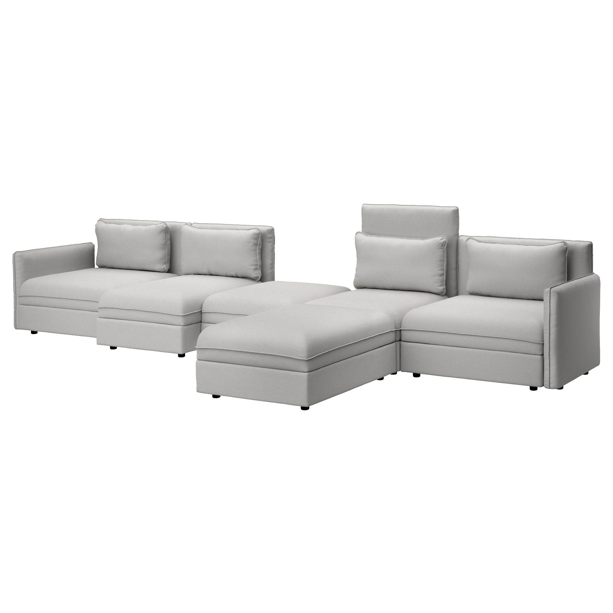 IKEA VALLENTUNA Sofa Ramna Dark Beige Add, Remove Or Change Functions To  Suit Your Needs, And Choose Covers To Fit Your Style.