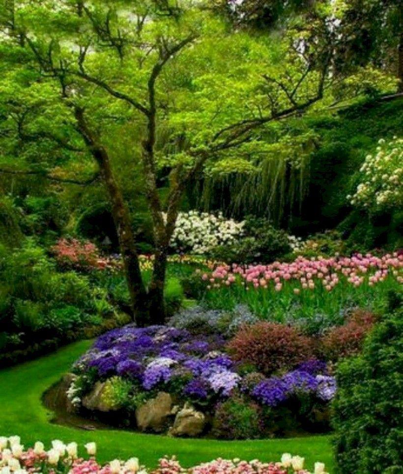 Nice 40 Stunning Backyard Landscaping Design Ideas