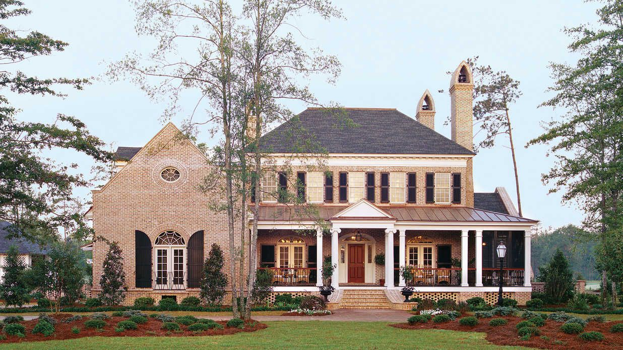 Pretty House Plans with Porches Pretty House