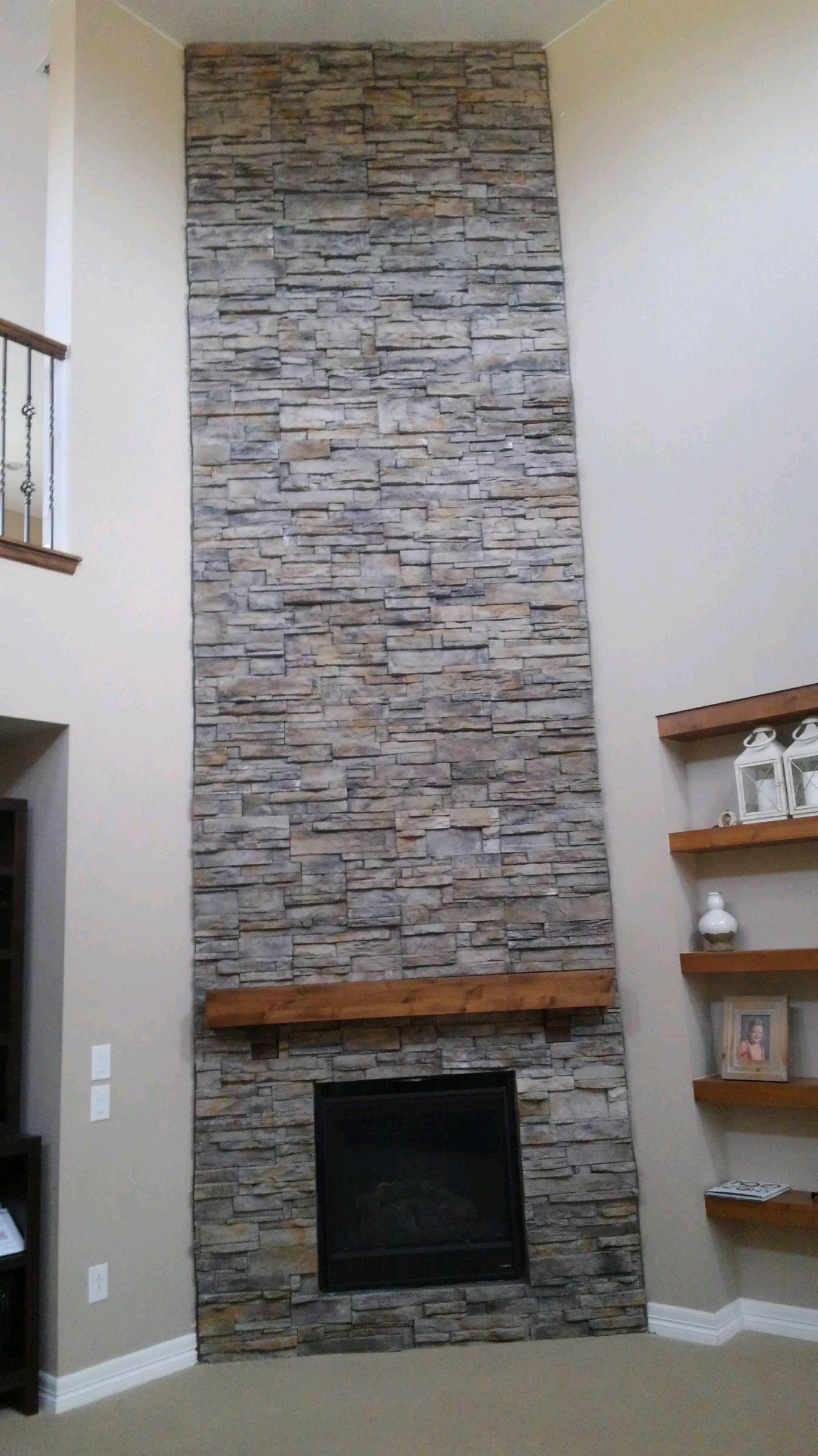 stone veneer fireplace fireplaces stone veneer fireplace stone rh pinterest com