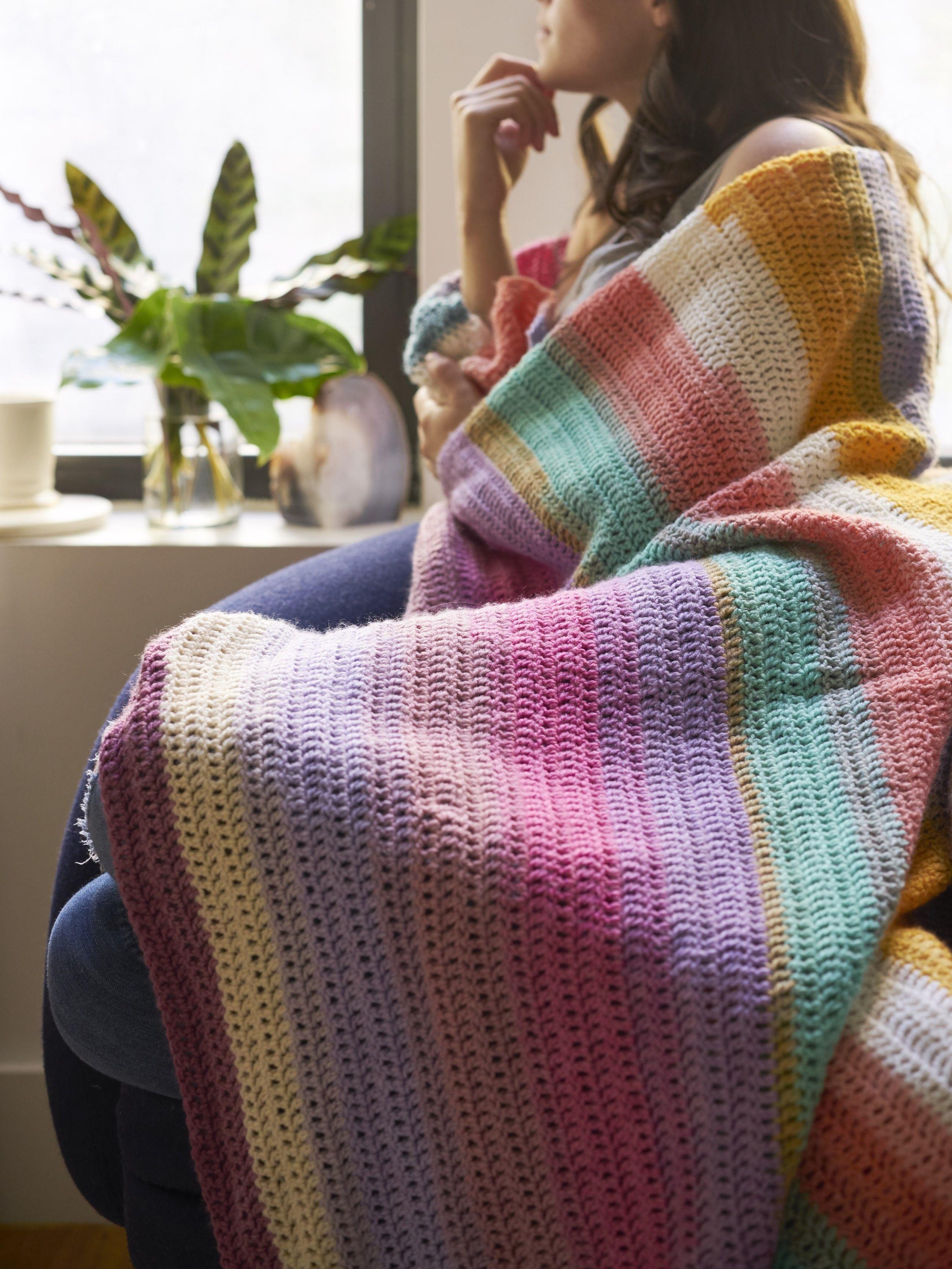Beginner\'s Delight Afghan (Crochet) | Crochet - Afghans & Throws ...