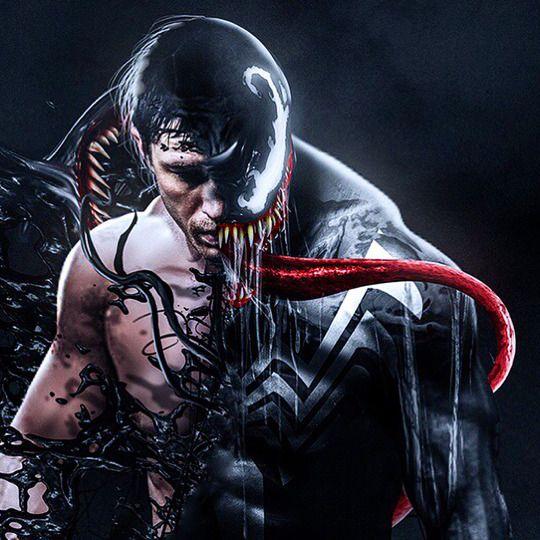 Tom hardy as venom by bosslogic