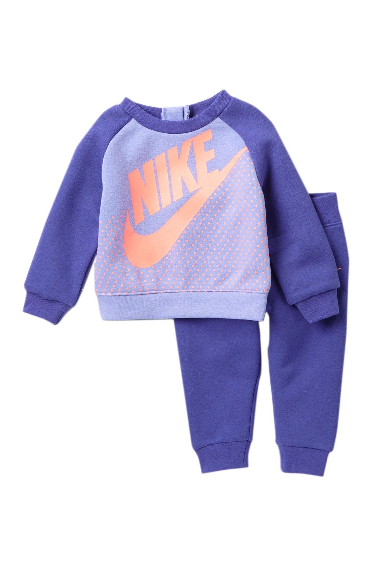 47051a5f87 Sweatshirt & Jogger Set (Baby Girls) | Baby | Nike sweatshirts ...