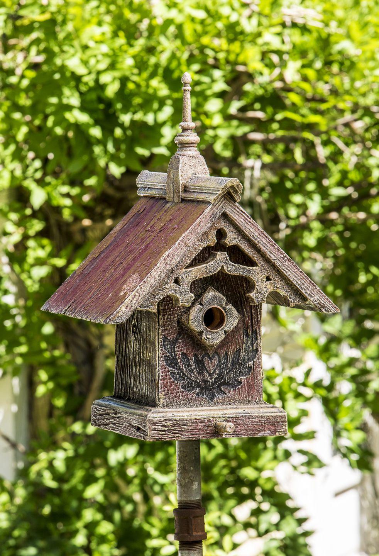 gothic birdhouse barn birdhouses bird houses fairy houses barn rh pinterest com