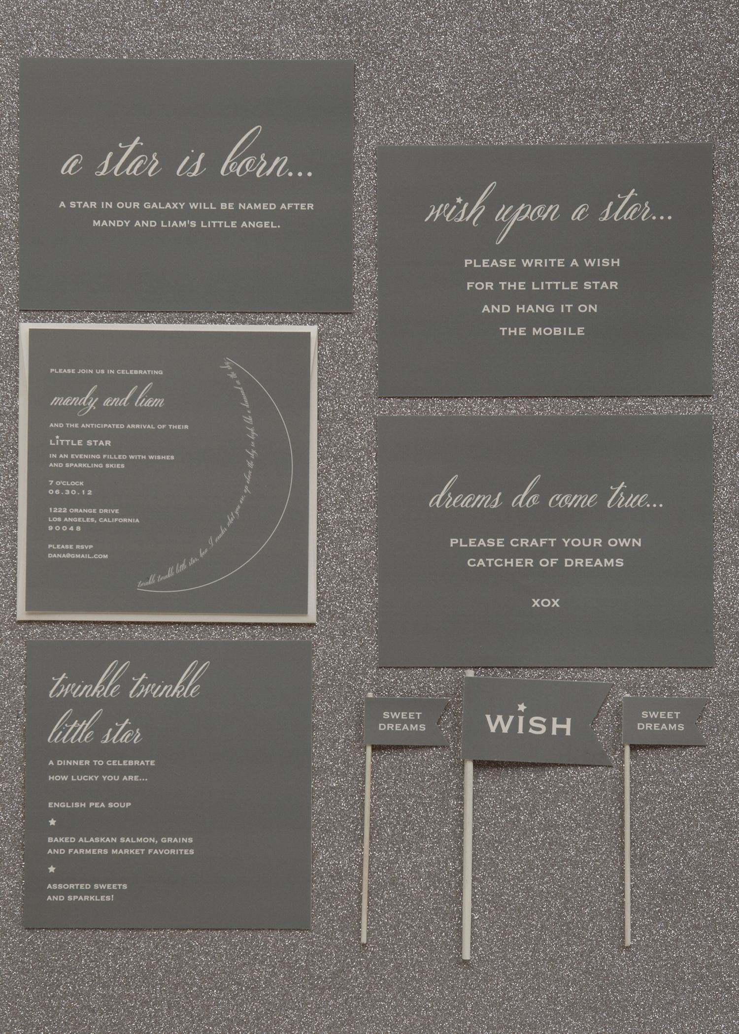 how early should you send out wedding shower invitations%0A Star Light  Star Bright