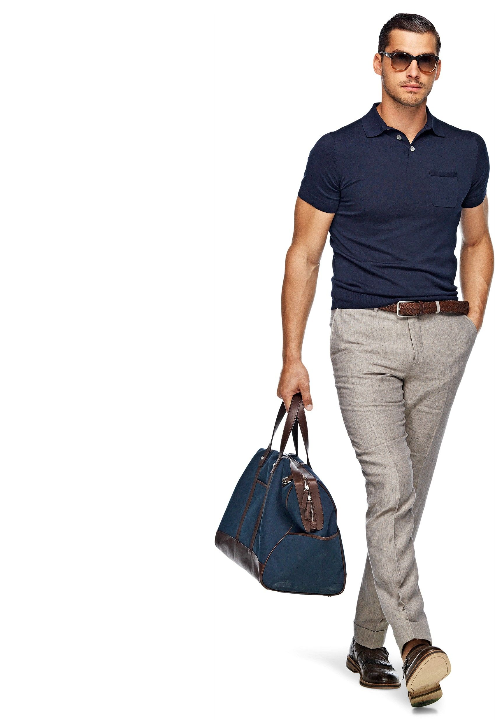 Light brown pants b291 suitsupply online store fashion for Light brown polo shirt