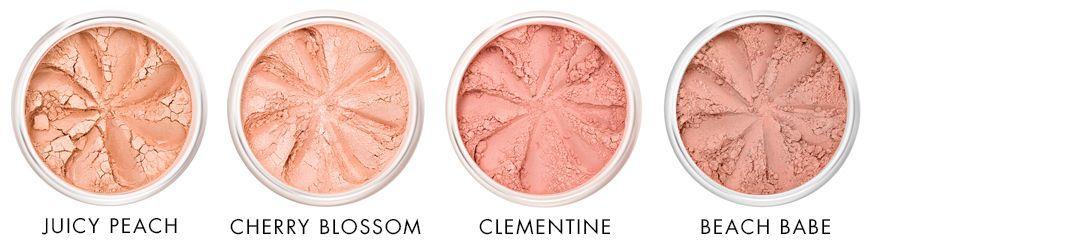 Mineral Blush - Peach Tones - Lily Lolo #lilylolo Peachy tones of mineral blush Lily Lolo - Ayanature #lilylolo