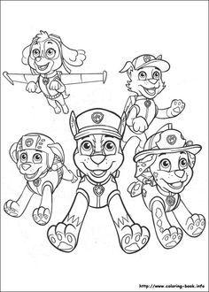 Everest Paw Patrol Coloring Page Kids Coloriage Coloriage Pat