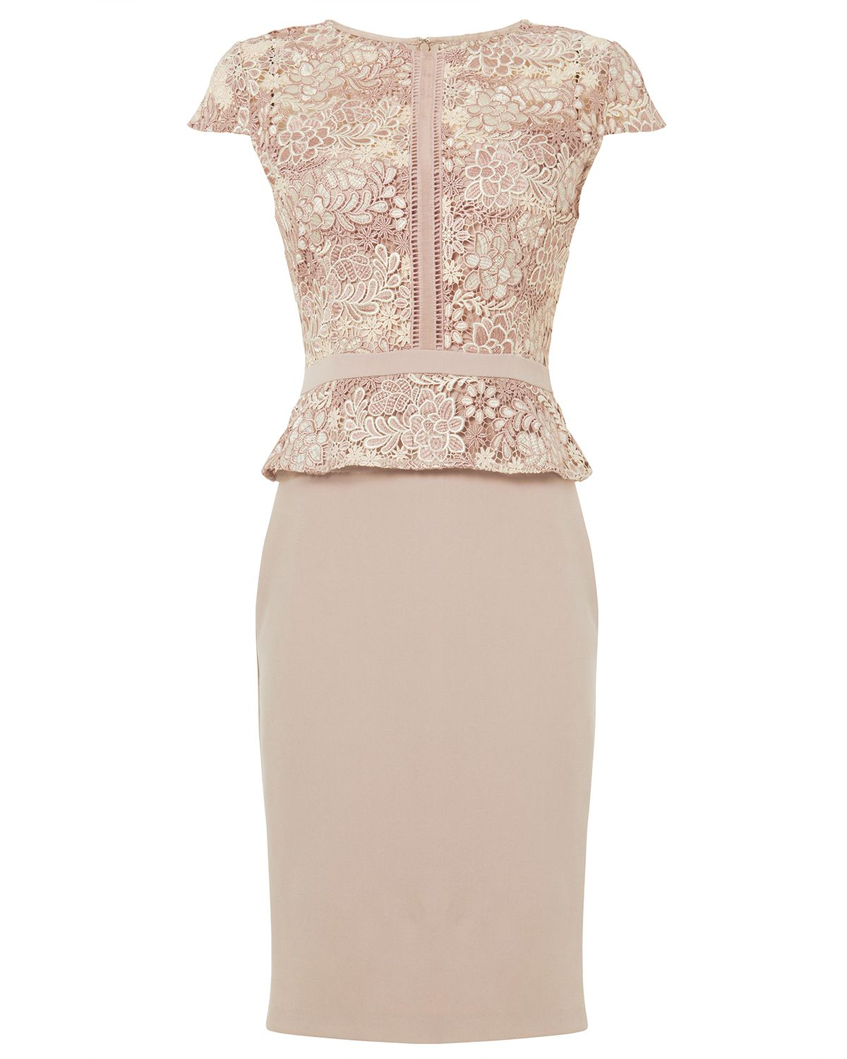2919ca2fe1797 Phase Eight Mia Lace Dress Pink | Dress телесный in 2019 | Lace ...