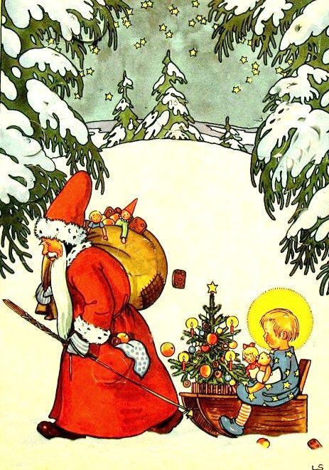 Lilly Scherbauer   Christmas Card   Pinterest   Ein guter Mann ...