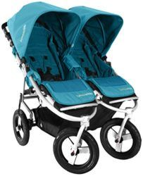 Bumbleride Indie Twin Jogging Double Stroller, Aquamarine