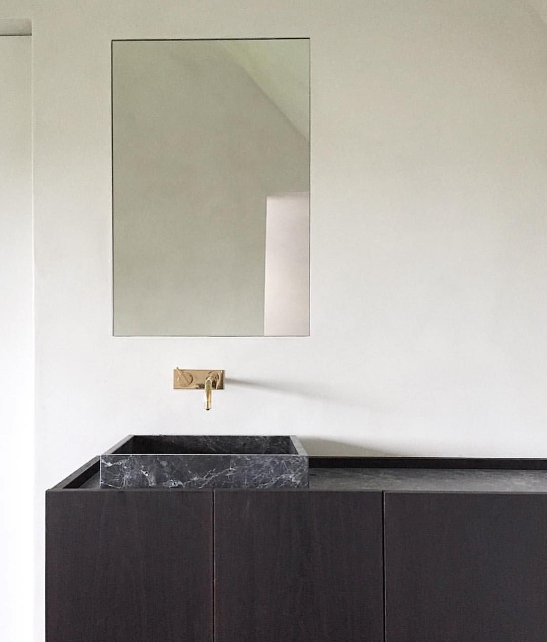 COCOON wash basin design inspiration black