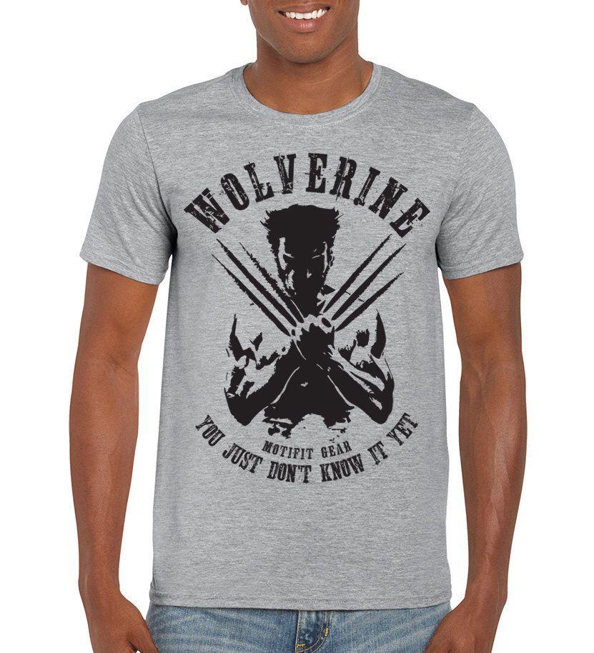 b05e7504b Wolverine T-shirt, Xmen shirts, Marvel shirts, batman superman tshirt,  funny tshirt, X-Men tees men tshirt women graphic tshirt fitness tops by  MOTIFIT on ...