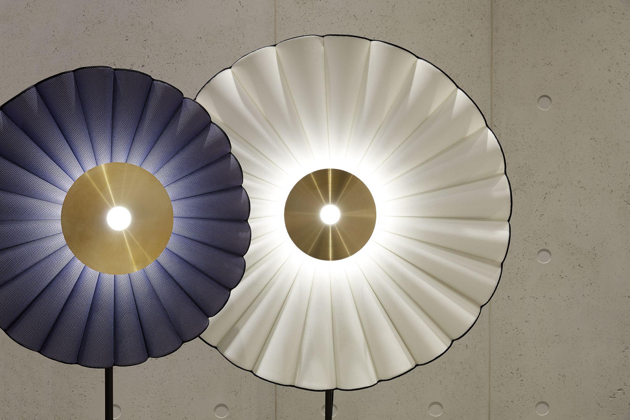 roche bobois reine floor lamp designed by chape mache. Black Bedroom Furniture Sets. Home Design Ideas