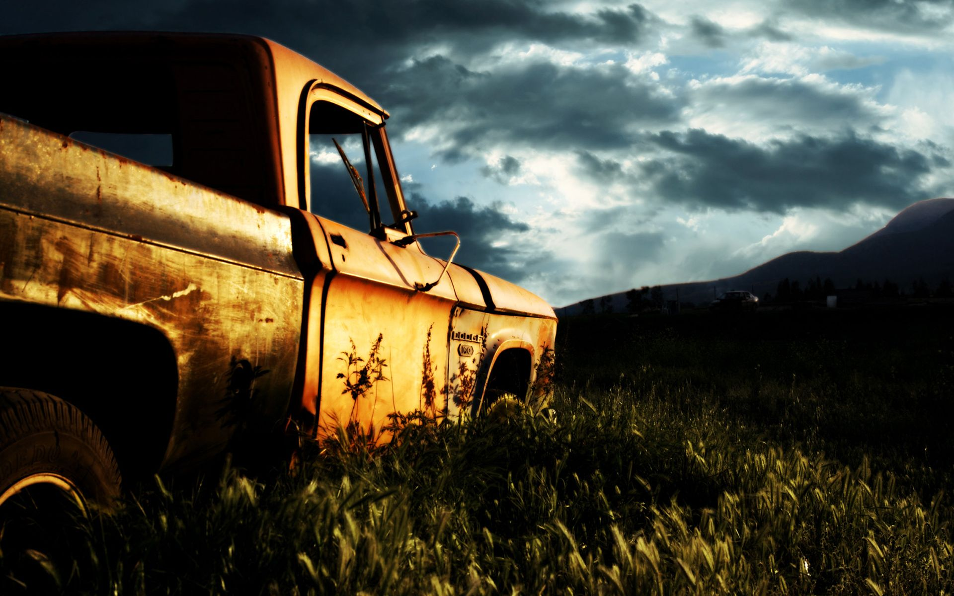 Rusty Dodge Car Wide Jpg 1920 1200 Car Wallpapers Amazing Nature Photos Cool Backgrounds Wallpapers