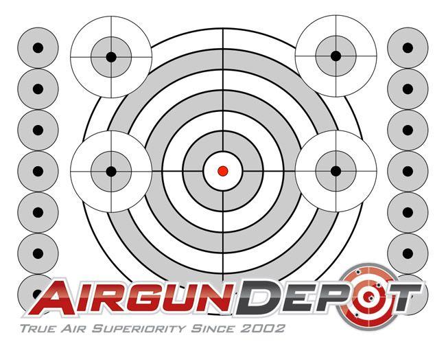 ab5fa4408c9 Printable airgun targets Muli-Target - Printable Target Shooting Targets