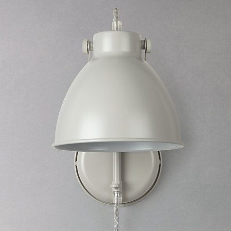Buy john lewis norton stone with cable wall light grey online at buy john lewis norton stone with cable wall light grey online at johnlewis aloadofball Choice Image