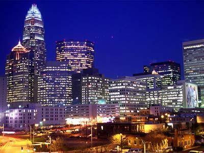 beautiful clt skyline charlotte nc north carolina hotels rh pinterest com