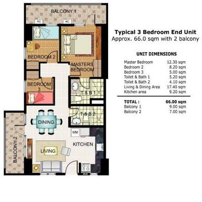 My Manila Condo Condo Condos For Sale Room Layout