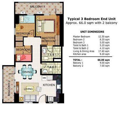 My Manila Condo Condo Luxury Condo Room Layout