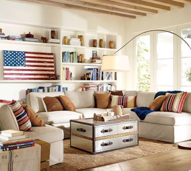 Americana Living Room Best Inspiration Design