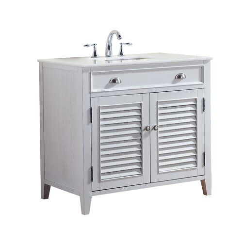 gertrud 36 single bathroom vanity set in 2019 bathroom remodel rh pinterest com
