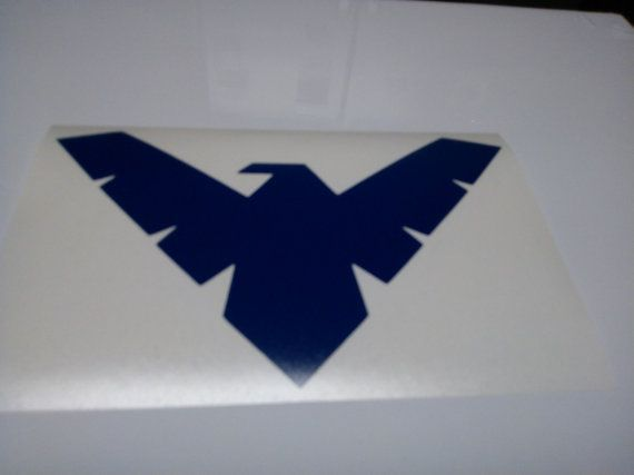 Nightwing Logo Decal by SuperiorVinyl on Etsy