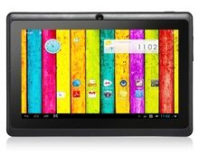 "Q8 PRO 7.0"" Capacitive G+G Touch Screen 800x480 Android 4.4 Dual Core A33 1.5GHz Tablet PC with Wi-Fi, Dual Camera (4GB) (Black)"