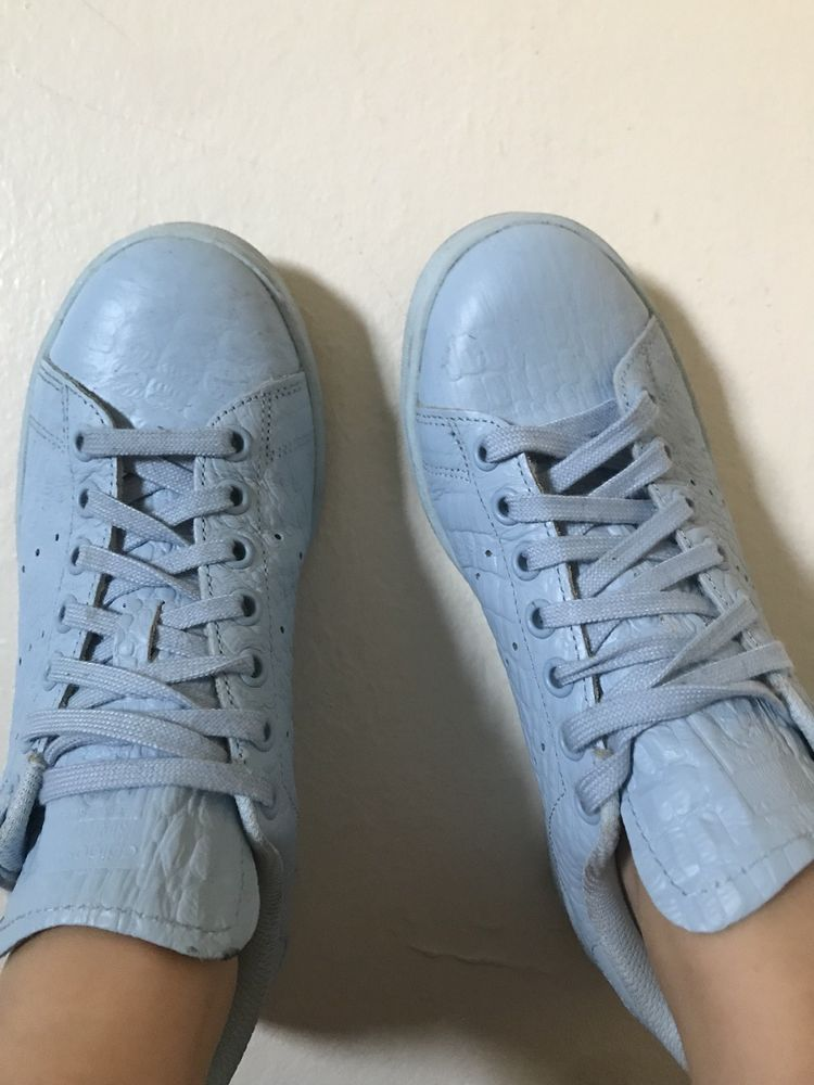a9c3b5065 Adidas Originals Stan Smith Women's Sun Glow Sneakers Size 6.5 #fashion  #clothing #shoes #accessories #womensshoes #athleticshoes (ebay link)