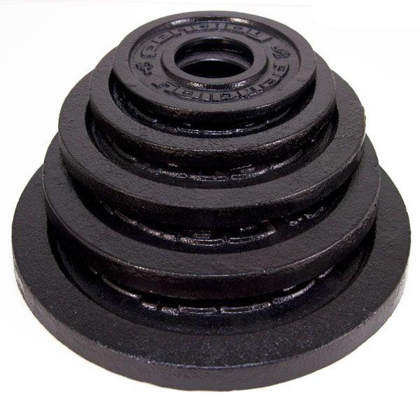 Pendlay black metal weight plate set muscledriver usa garage