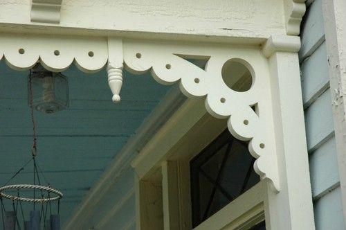 Corbel Bracket Porch Gingerbread Victorian Custom Size Corbels Updating House Wooden Porch